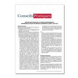 FICHE INTERVENTION BORDEREAU SUIVI DECHETS DANGEREUX POUR FLUIDES FRIGORIGENES (P075)