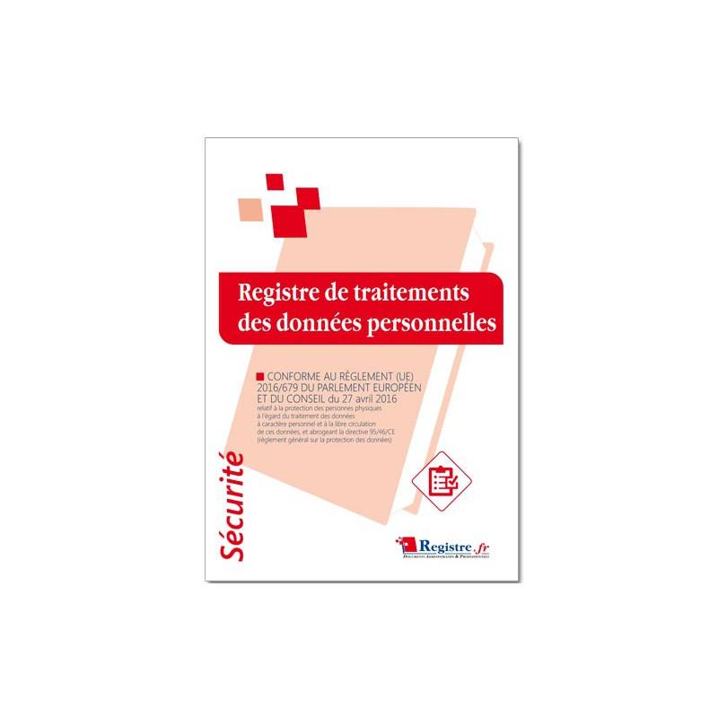 REGISTRE DE TRAITEMENTS DES DONNEES PERSONNELLES (P076)