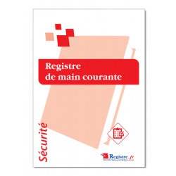 REGISTRE DE MAIN COURANTE (P078)
