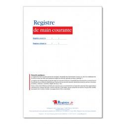 REGISTRE DE MAIN COURANTE (P078)