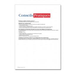 REGISTRE DES PREMIERS SOINS (P101)