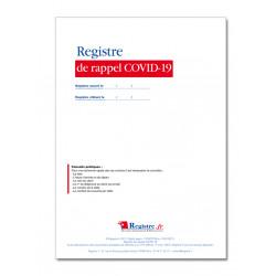 REGISTRE DE RAPPEL COVID-19 (P103)