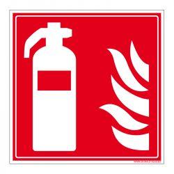 Signalisation d'incendie - Extincteur