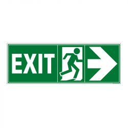 Signalisation de secours - Sortie vers la gauche