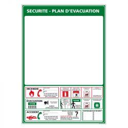 Signalisation de secours - Plan d'évacuation