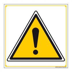 Signalisation de danger - Avertissement