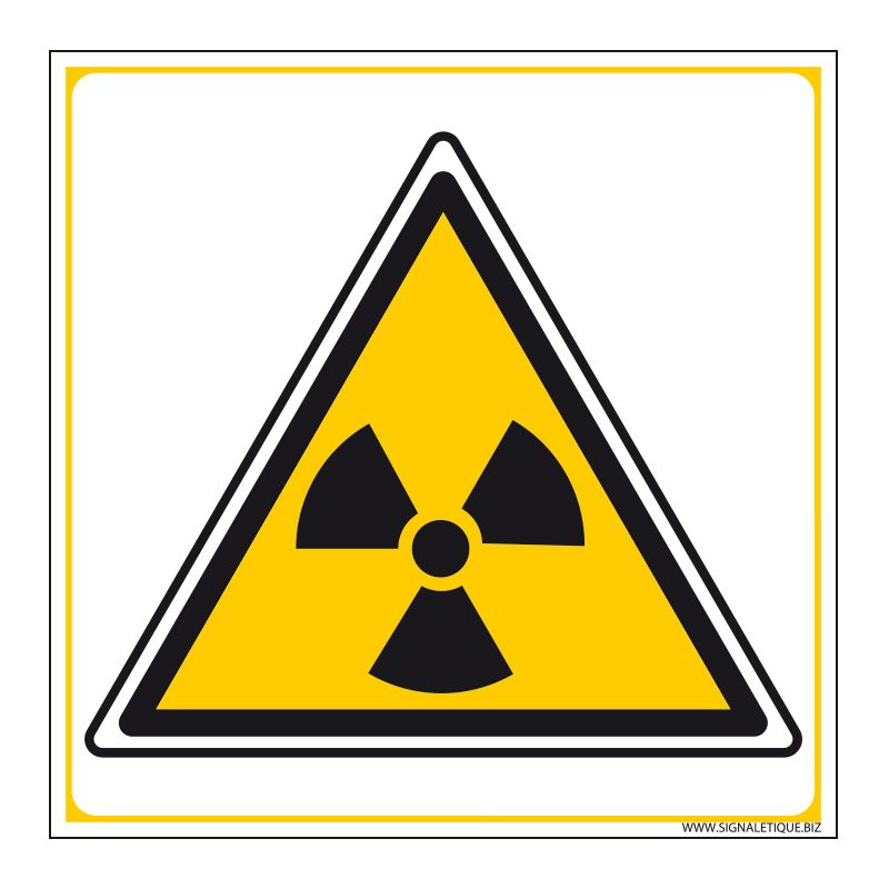 Signalisation de danger - Risque ionisant