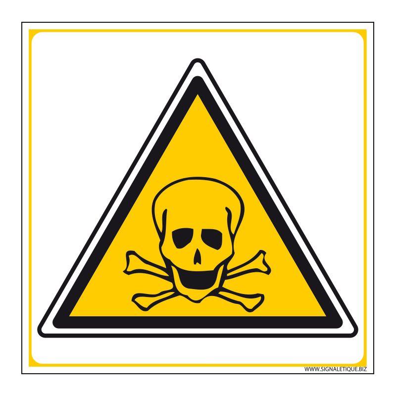 Signalisation de danger - Risque de mort
