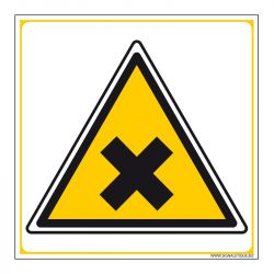 Signalisation de danger - Matières nocives ou irritantes