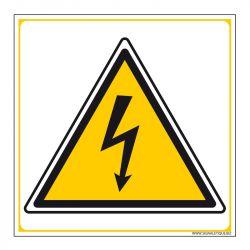 Signalisation de danger - Risque électrique