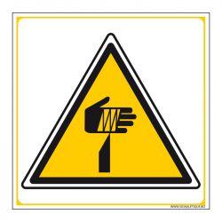 Signalisation de danger - Risque de coupures