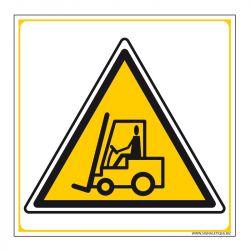 Signalisation de danger - Chariot élevateur