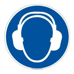 Signalisation d'obligation - Port du casque anti-Bruit obligatoire