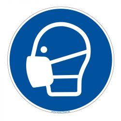 Signalisation d'obligation - Port du masque obligatoire