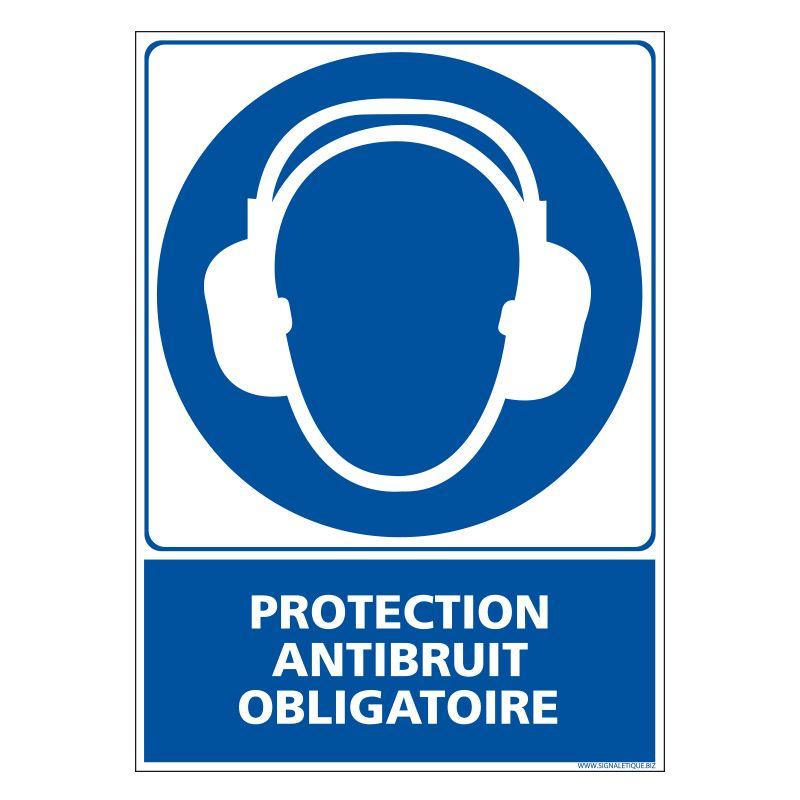 Signalisation d'obligation - Protection anti bruit obligatoire