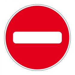 Signalisation d'interdiction - Sens interdit