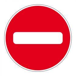 Signalisation d'interdiction - Sens interdit