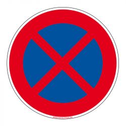 Signalisation de parking / stationnement - Arrêt et stationnement interdit