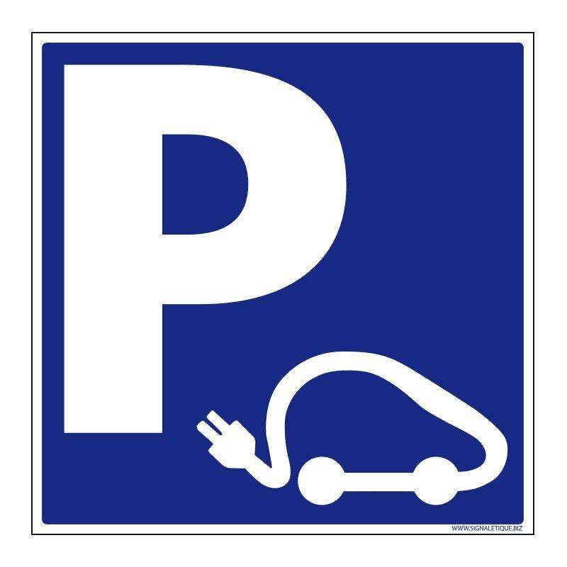 Signalisation de parking / stationnement - Parking voiture électriques