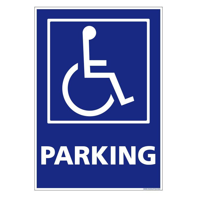Signalisation de parking / stationnement - Parking handicapés