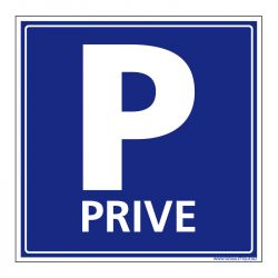 Signalisation de parking / stationnement - Parking privé