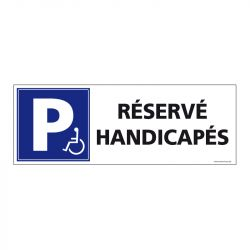 Signalisation de parking / stationnement - Parking réservé handicapés