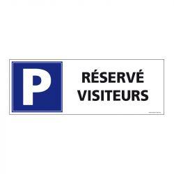 Signalisation de parking / stationnement - Parking réservé visiteurs