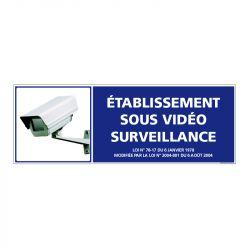 Signalisation de sécurité - Batiment sous vidéo surveillance
