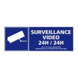 Signalisation de sécurité - Surveillance vidéo 24h/24