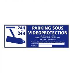 Signalisation de sécurité - Parking sous vidéo protection