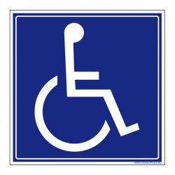 Signalisation accueil du public - Accessibilité aux personnes à mobilitée réduite