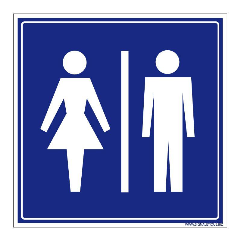 Signalisation accueil du public - Toilette hommes / femmes