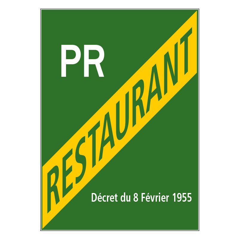 Signalisation hôtel restaurant camping - Licence petit restaurant
