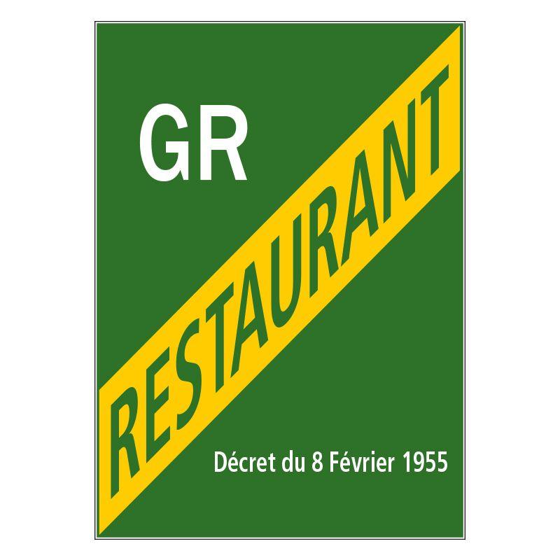 Signalisation hôtel restaurant camping - Licence grand restaurant